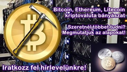 Bitcoin, Ethereum kriptovaluta bányászáshoz erőforrás vásárlás az InviaWorld-től